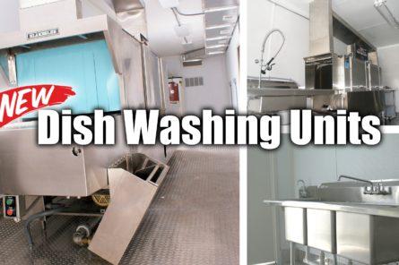 Temporary Dishwashing Facility