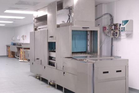 Temporary Dish Washing Facility at University of Texas Medical Branch (UTMB) Galveston